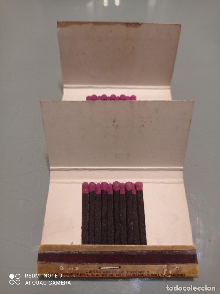 Cajas de Cerillas: Dos Antiguas Cajas cerllas 20 Junio 1974 REUNION CONSULAR - Foto 3 - 253568000