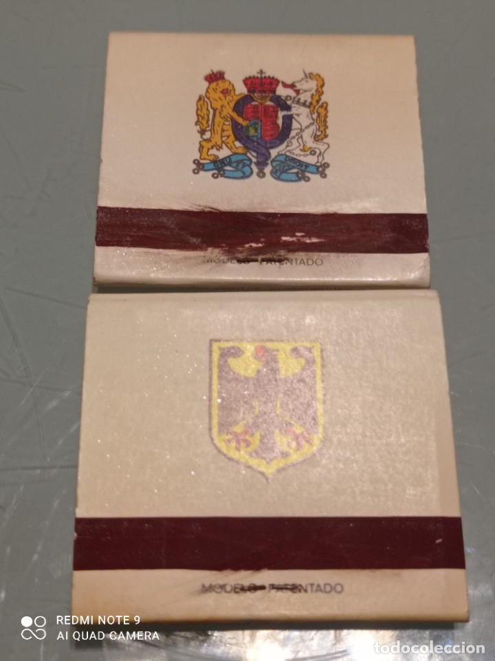 Cajas de Cerillas: Dos Antiguas Cajas CERILLAS BANDERAS ALEMANIA, GRAN BRETAÑA - Foto 2 - 253568525