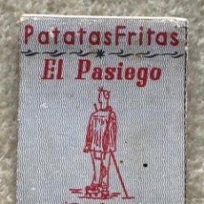 Cajas de Cerillas: PATATAS FRITAS EL PASIEGO - PEÑACASTILLO - SANTANDER - CAJA DE CERILLAS. Lote 254066815