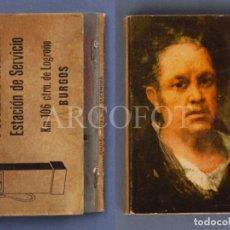 Cajas de Cerillas: ANTIGUA CAJA DE CERILLAS MAESTU - ESTACION DE SERVICIO - BURGOS. Lote 254076280