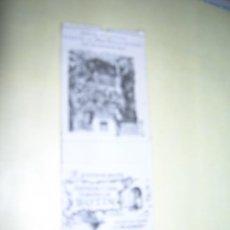 Cajas de Cerillas: CARTERITA CERILLAS PUBLICIDAD. RESTAURANTE ANTIGUA CASA SOBRINO DE BOTÍN (FUNDADA EN 1725). MADRID.. Lote 254641635