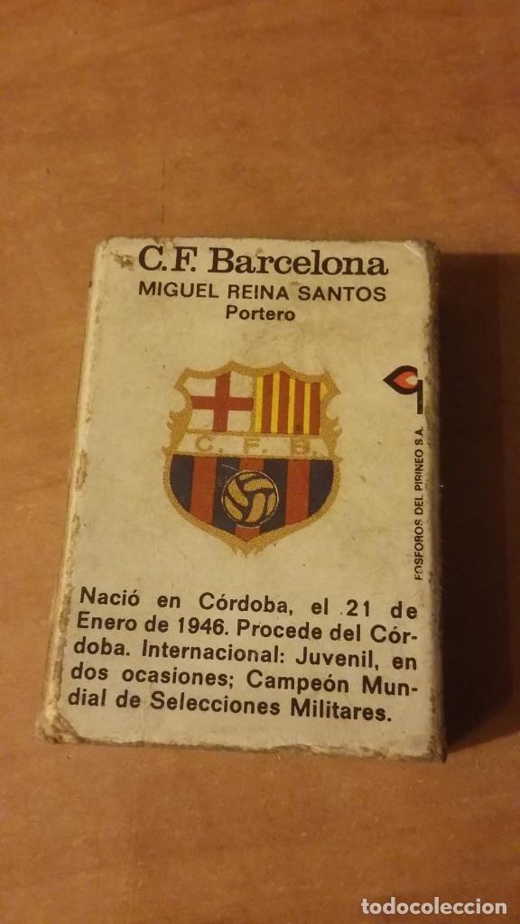 Cajas de Cerillas: Reina futbolista del Barcelona. Fósforos del Pirineo. Cerillas. Sin los mixtos. 1973 - Foto 2 - 254643445