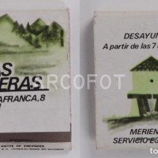 Cajas de Cerillas: ANTIGUA CAJA DE CERILLAS LAS LLERAS - LEON. Lote 254644820