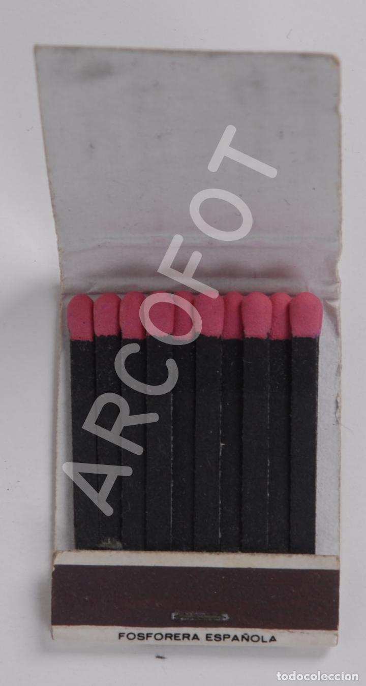 Cajas de Cerillas: Antigua Caja de Cerillas TIFFANYS - TORREMOLINOS - Foto 2 - 254645405