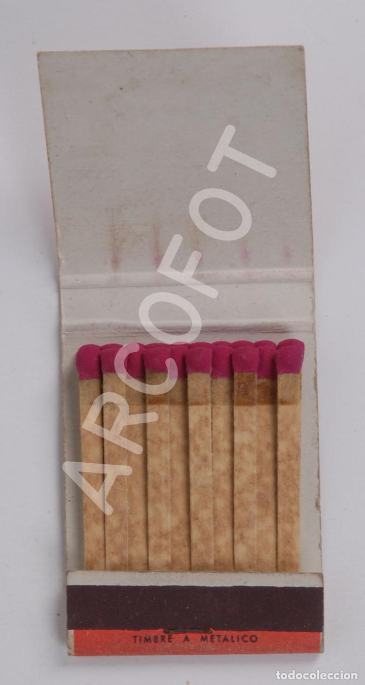 Cajas de Cerillas: Antigua Caja de Cerillas FABRICA DE CONSERVAS DE PESCADOS ORMAZA BRAND - BERMEO (VIZCAYA) - Foto 2 - 254645510