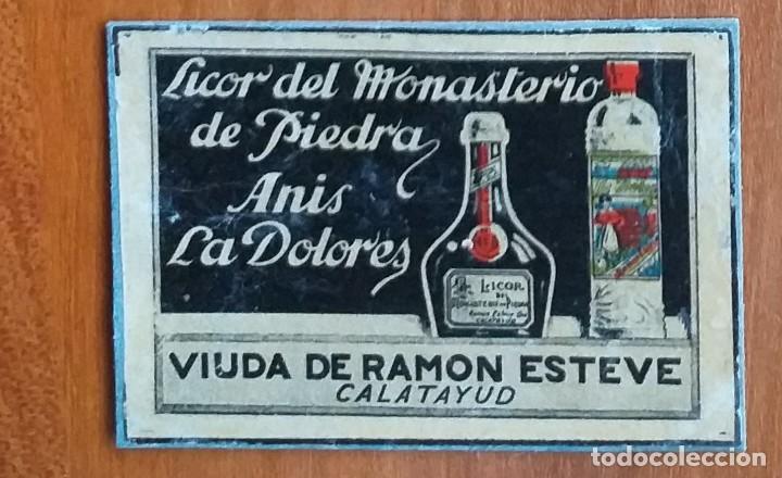 ANIS LOS DOLORES - ANTIGUO CROMO PUBLICITARIO CAJAS CERILLAS AÑOS 20 (Coleccionismo - Objetos para Fumar - Cajas de Cerillas)
