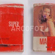 Cajas de Cerillas: ANTIGUA CAJA DE CERILLAS MAROCAINE SUPER - VZ - VENTIL ZONE. Lote 255003490