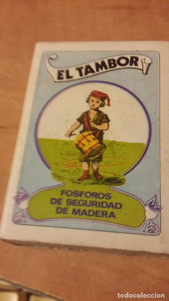 CAJA DE CERILLAS DE LA SERIE VIEJOS TIEMPOS. Nº5. FÓSFOROS DEL PIRINEO. SIN LOS MIXTOS (Coleccionismo - Objetos para Fumar - Cajas de Cerillas)