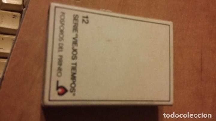 Cajas de Cerillas: Caja de cerillas de la serie Viejos Tiempos en color. Nº12. Fósforos del Pirineo. Sin los mixtos - Foto 2 - 255016750
