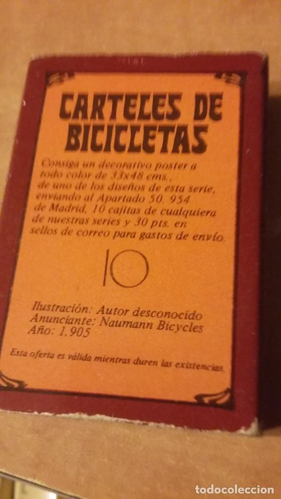 Cajas de Cerillas: Caja de cerillas de la serie Carteles de Bicicleta, nº 10. Fósforos del Pirineo. Sin los mixtos - Foto 2 - 255017345