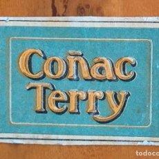 Cajas de Cerillas: COÑAC TERRY - ANTIGUO CROMO PUBLICITARIO CAJAS CERILLAS AÑOS 20. Lote 255359900