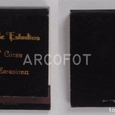 Cajas de Cerillas: ANTIGUA CAJA DE CERILLAS FIN DE ESTUDIOS - 6º CURSO TERESIANA. Lote 255586080