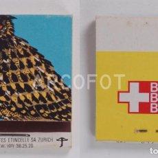 Cajas de Cerillas: ANTIGUA CAJA DE CERILLAS BIER - BIERE - BIRRA - 1970 ANNEE DE LA NATURE. Lote 255588220