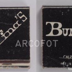 Cajas de Cerillas: ANTIGUA CAJA DE CERILLAS CIMA'S CLUB - BURGOS. Lote 255592095