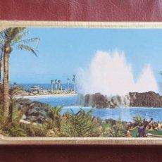 Cajas de Cerillas: CAJA DE CERILLA LAGO MARTIANEZ TENERIFE (ISLAS CANARIAS).. Lote 257452740