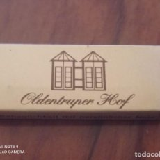 Cajas de Cerillas: RETRO ANTIGUA CAJITA CERILLAS OLDENTRUPER HOF. Lote 259984090