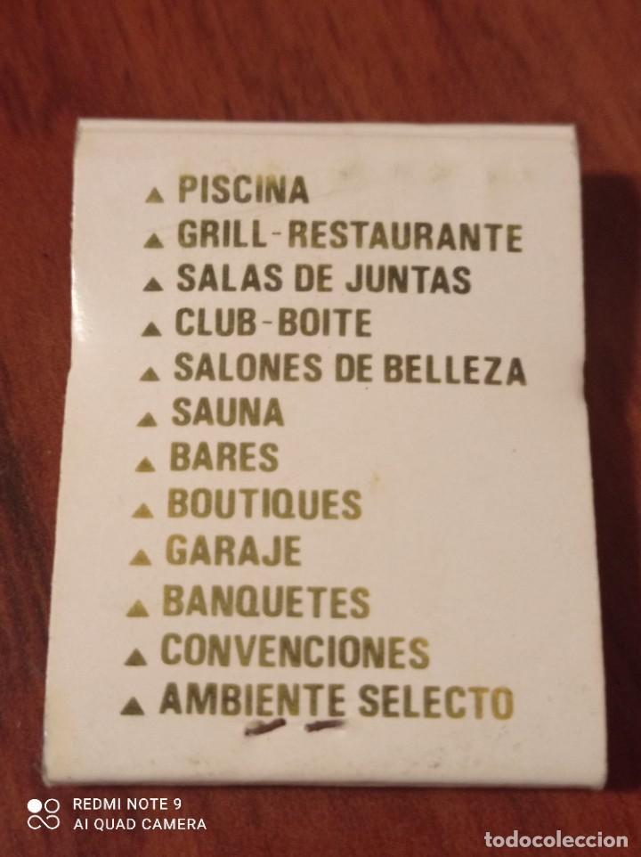 Cajas de Cerillas: RETRO ANTIGUA CARTERITA CERILLAS HOTEL MONTE REAL, PUERTA DE HIERRO , MADRID - Foto 2 - 260745995