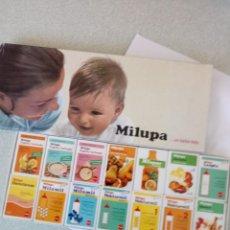 Cajas de Cerillas: ESTUCHE CON 14 CAJAS DE CERILLAS MILUPA NUEVAS Y LLENAS. Lote 261545800