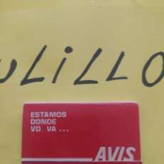 Cajas de Cerillas: CAJA DE CERILLAS AVIS ALQUILAMOS COCHES. Lote 267459969