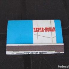 Cajas de Cerillas: REPAR-HOGAR ALBAÑILES FONTANEROS ELECTRICISTAS CARPINTEROS PINTORES SALAMANCA. Lote 267777089
