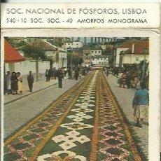 Caixas de Fósforos: CAJA DE CERILLAS - DIA DE PROCISSÃO, VILA DO CONDE - FOTOS. Lote 268848089