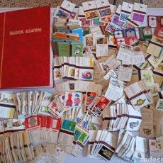 Caixas de Fósforos: GRAN LOTE FOTOTIPIAS DE CAJAS DE CERILLAS. Lote 269214843