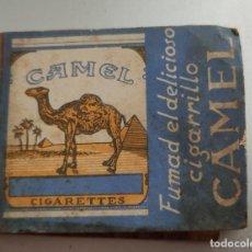 Cajas de Cerillas: ANTIGUA CAJA DE CERILLAS PUBLICIDAD CAMEL CASI LLENO MONOPOLIO DE CERILLAS HACIENDA PÚBLICA. Lote 269838063