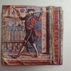 Cajas de Cerillas: ANTIGUA CAJA DE CERILLAS FÁBRICA EN GRACIA FÓSFORO DEL GLOBO FIGARO. Lote 269841208
