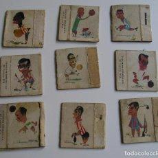 Cajas de Cerillas: LOTE CAJA CERILLAS AÑOS 60 FUTBOLISTAS. Lote 274281203