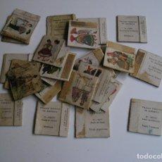 Cajas de Cerillas: LOTE 26 CAJA CERILLAS AÑOS 60 TRAJES TIPICOS. Lote 274283208