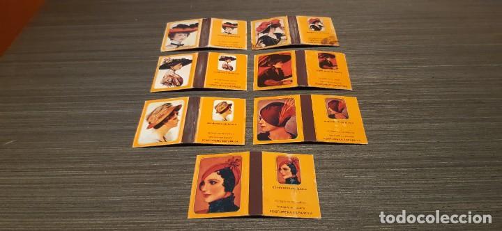 Cajas de Cerillas: Lote de 7 cajas de cerillas serie sombreros de epoca - Foto 4 - 276257078