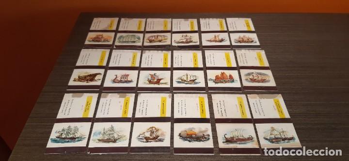 LOTE DE 18 CAJAS DE CERILLAS SERIE BARCOS (Coleccionismo - Objetos para Fumar - Cajas de Cerillas)