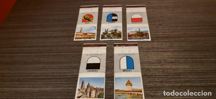 LOTE DE 5 CAJAS DE CERILLAS (Coleccionismo - Objetos para Fumar - Cajas de Cerillas)