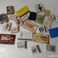 Cajas de Cerillas: ORIGINAL NO COPIA. REF.AUTO. Lote 277229563