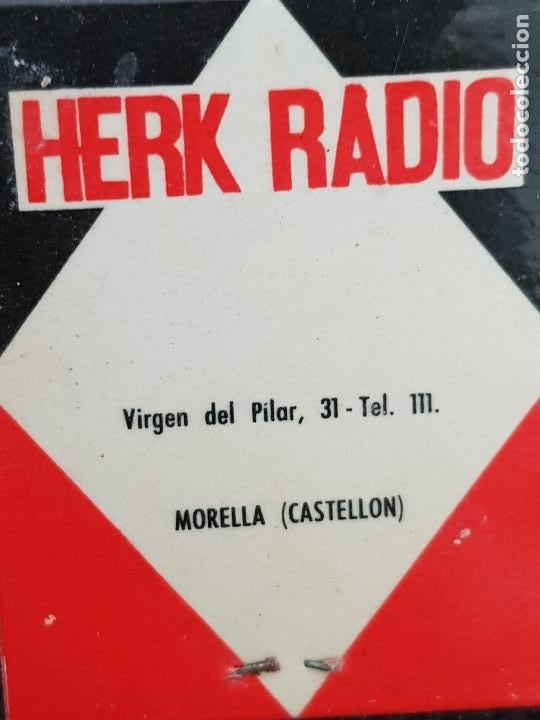 Cajas de Cerillas: IBERIA-HERK RADIO,MORELLA CASTELLON - Foto 4 - 277465273