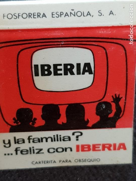 IBERIA-HERK RADIO,MORELLA CASTELLON (Coleccionismo - Objetos para Fumar - Cajas de Cerillas)