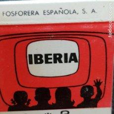 Cajas de Cerillas: IBERIA-HERK RADIO,MORELLA CASTELLON. Lote 277465273