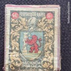 Cajas de Cerillas: ESPAÑA BADAJOZ. Lote 277465433