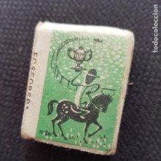 Cajas de Cerillas: Nº26 COPA CARRERAS. Lote 277465608