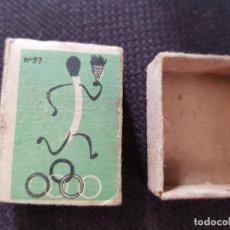 Cajas de Cerillas: Nº27 ANTORCHA OLIMPICA. Lote 277466193