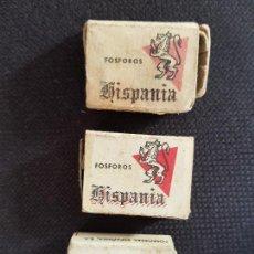 Cajas de Cerillas: HISPANIA 3. Lote 277466328