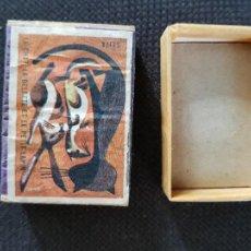 Cajas de Cerillas: LE CHAT.LA BELETTE ET LE PETIT LAPIN. Lote 277466528