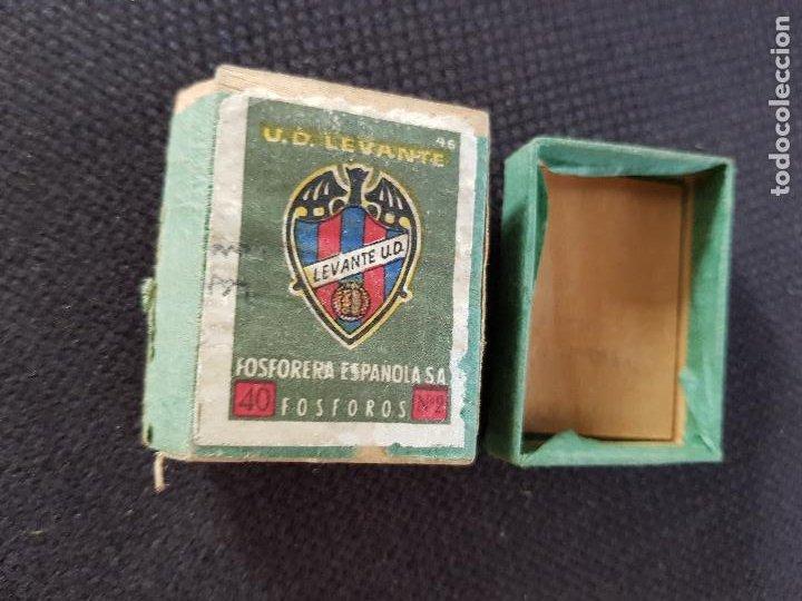 U.C.LEVANTE (Coleccionismo - Objetos para Fumar - Cajas de Cerillas)