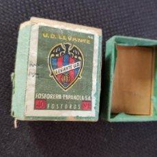 Cajas de Cerillas: U.C.LEVANTE. Lote 277466648