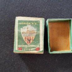 Cajas de Cerillas: LERIDA F.C.. Lote 277466693