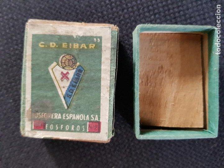 C.D.EIBAR (Coleccionismo - Objetos para Fumar - Cajas de Cerillas)