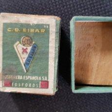 Cajas de Cerillas: C.D.EIBAR. Lote 277466763