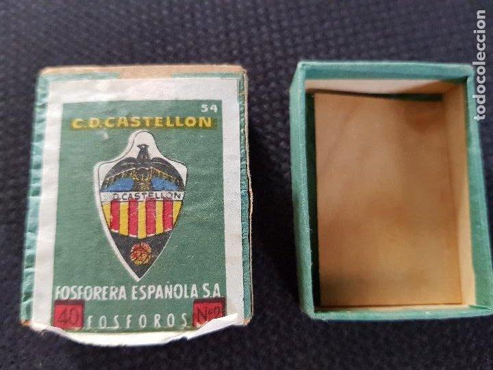 C.D.CASTELLON (Coleccionismo - Objetos para Fumar - Cajas de Cerillas)