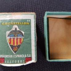 Cajas de Cerillas: C.D.CASTELLON. Lote 277466938