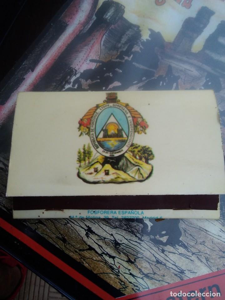 CAJA CERILLA. FOSFORERA ESPAÑOLA REPÚBLICA DE HONDURAS (Coleccionismo - Objetos para Fumar - Cajas de Cerillas)